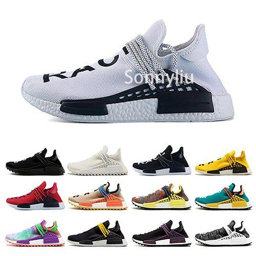 887cfaab9d764 Human Race Mens Designer Running Shoes 2019 Men Casual Pharrell ...