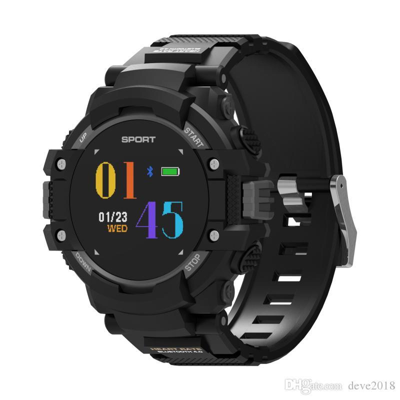 36eda88480d5 Watch Relojes Función GPS Pantalla A Color F7 Reloj Inteligente IP67  Impermeable Multi Deporte Banda Bluetooth 4.2 Pulsera Inteligente Con  Batería De 400mAh ...