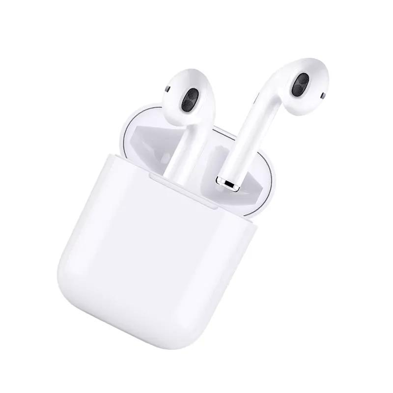 Mini Wireless I9 TWS Stereo Bass Earbuds For Phone With 600 mA Magnetic Charing Box VS I7S