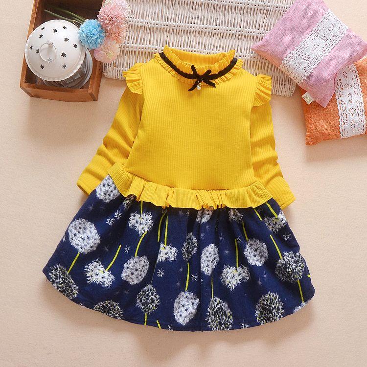 30c03c11ec20 2019 Good Quality Girls Dress Cotton Print Long Sleeve Princess Dresses  Autumn Winter Children Gilrs High Quality Thicken Costume Kids From  Victorys02, ...