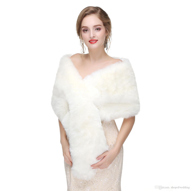 c20765eeb La novia de invierno cálida capa de lana Europa y los Estados Unidos de  gama alta de piel vestido de novia de piel de zorro chaleco