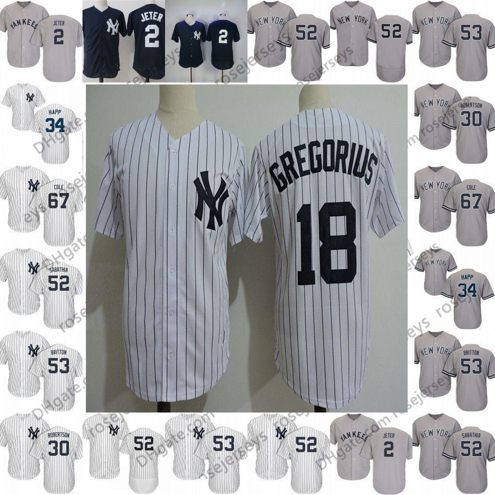 new concept 01ce4 d1080 2019 Yankees Jerseys New York #0 Adam Ottavino 2 Tulowitzki 18 Didi  Gregorius 19 Masahiro Tanaka 22 Jacoby Ellsbury 31 Aaron Hicks Troy