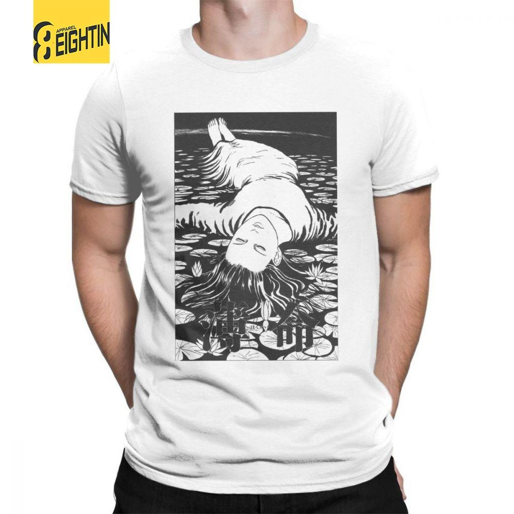 a8d2e039dc7 Horror Halloween Hojunji Ito Dying Young Novelty T Shirt Man S Short  Sleeved Tops Plus Size Tees Pure Cotton Crewneck T Shirt Best T Shirts  Sites Quirky T ...