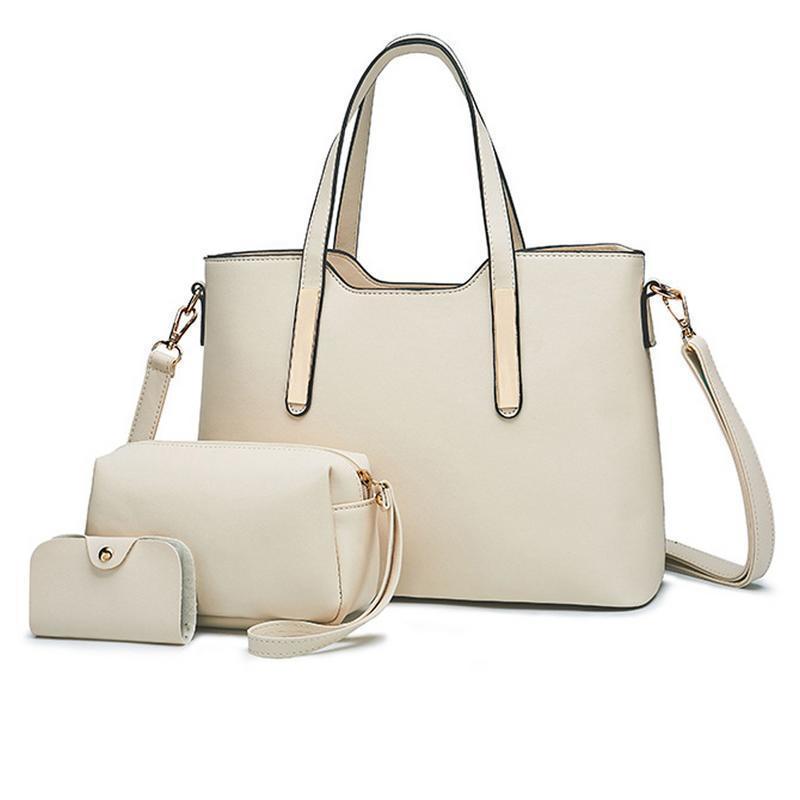 4a10c1ab8dda A Set Work Tote Bag Handbag Fashion Simple Crossbody Single Shoulder Bucket  Storage Bag For Women Girl Clutch Handbags Bags Satchel Handbags Ladies  Purses ...