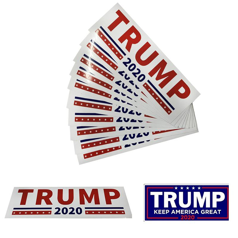 2 Colors Donald Trump Car Stickers Keep 2020 Make America Great Decal Bumper Sticker for Car Styling Vehicle Paster Car Accessories M529F