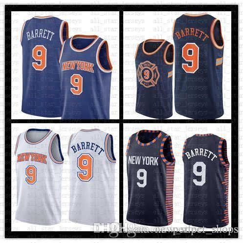 huge discount 54db1 e2883 9 RJ Barrett New York Jersey Knicks Blue white city New Orleans 1 Zion  Williamson Pelicans Jersey Memphis 12 Ja Morant Grizzlies Jerseys