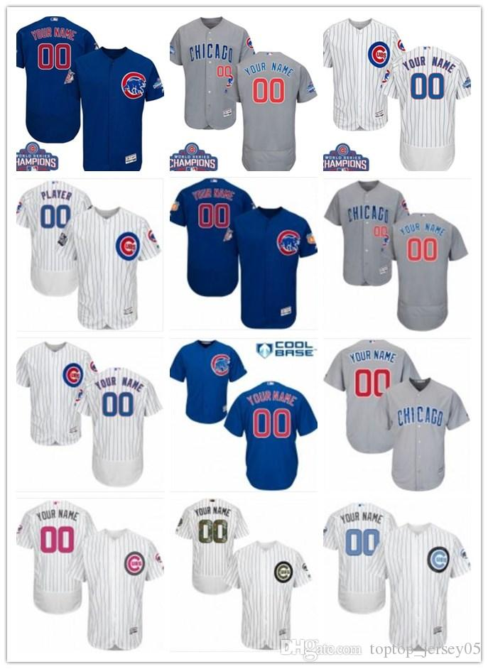 Custom Chicago Cubs Jerseys Any Name Any Number Men WOMEN YOUTH ... c355aa9ec