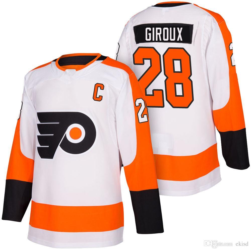 official photos 9cc01 4f742 28 Claude Giroux Jersey Philadelphia Flyers 28 Claude Giroux 53 Shayne  Gostisbehere 93 Jakub Voracek 19 Nolan Patrick 15 Jori Lehtera