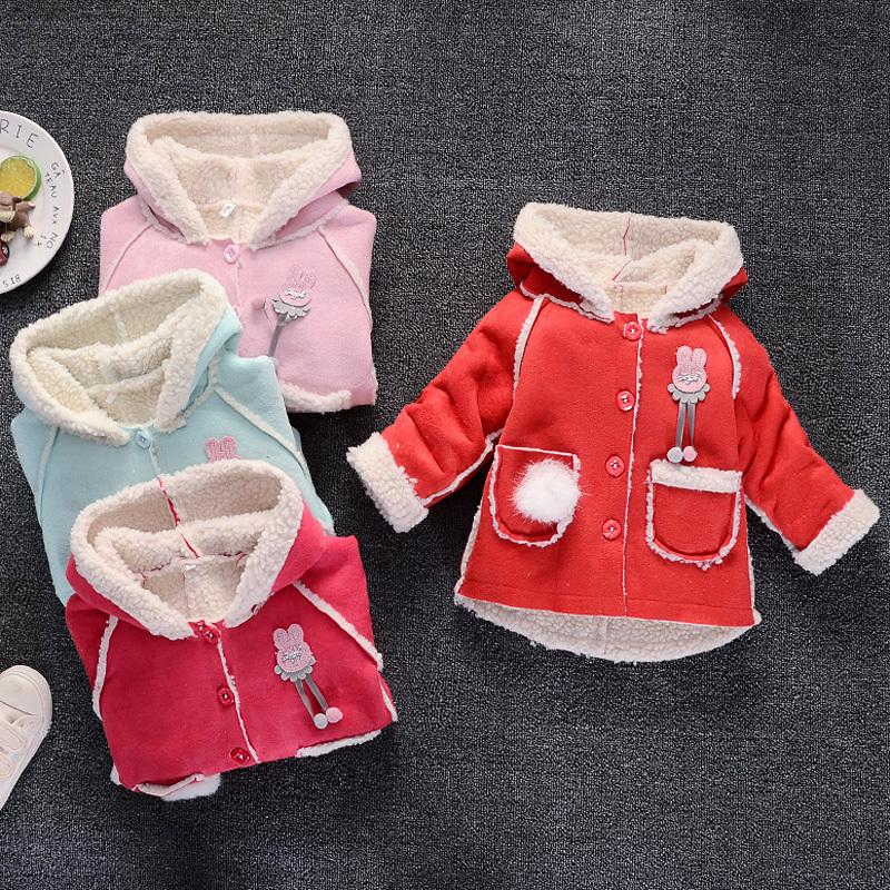 9c7a465d9 Good Quality Baby Girls Coats Spring Autumn Toddler Warm Fur Outwear ...