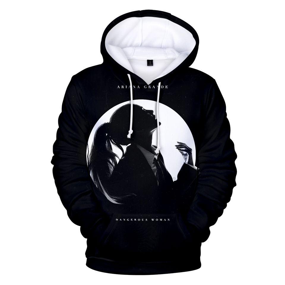 3d Hoodies Ariana Grande print mode hip hop stil männer frauen Hoodie Pullover top sport casual Langarm 3D Kapuzenpulli