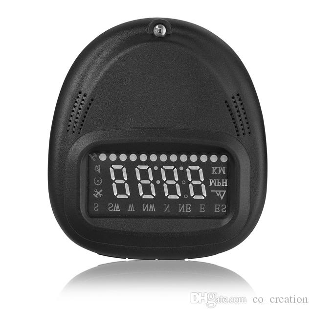 A1 2 inch plug and play head-up display GPS HUD Digital car speedometer GPS speedometer Car hud