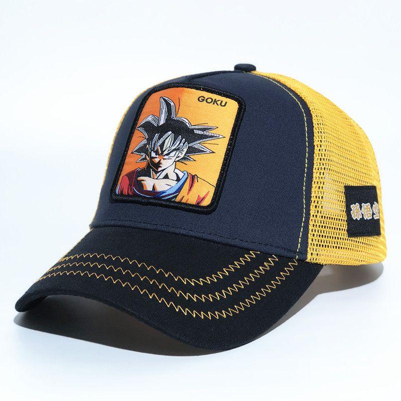 Dragon Ball Z Snapback Cap Goku Baseball Mütze Schirmmütze Größe verstellbar