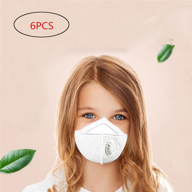 3Face Masks N95 Particulate Respirator Masks with Valve Kids PM2.5 Dust mask for kids and children Unique design for Cycling