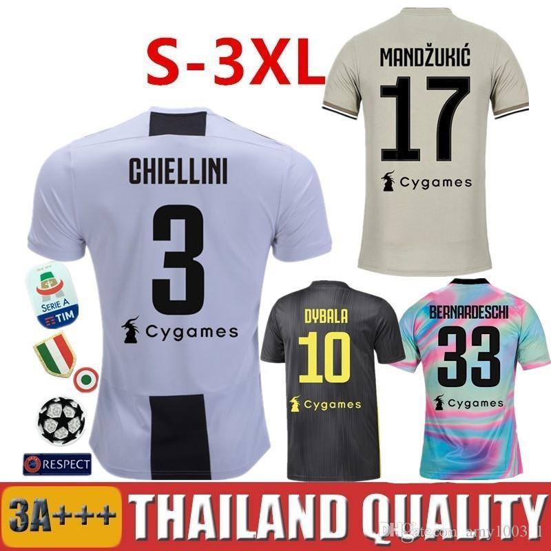 219b1ff0c 18 19 DYBALA RONALDO Juventus Soccer Jerseys BERNARDESCHI EA Sports ...