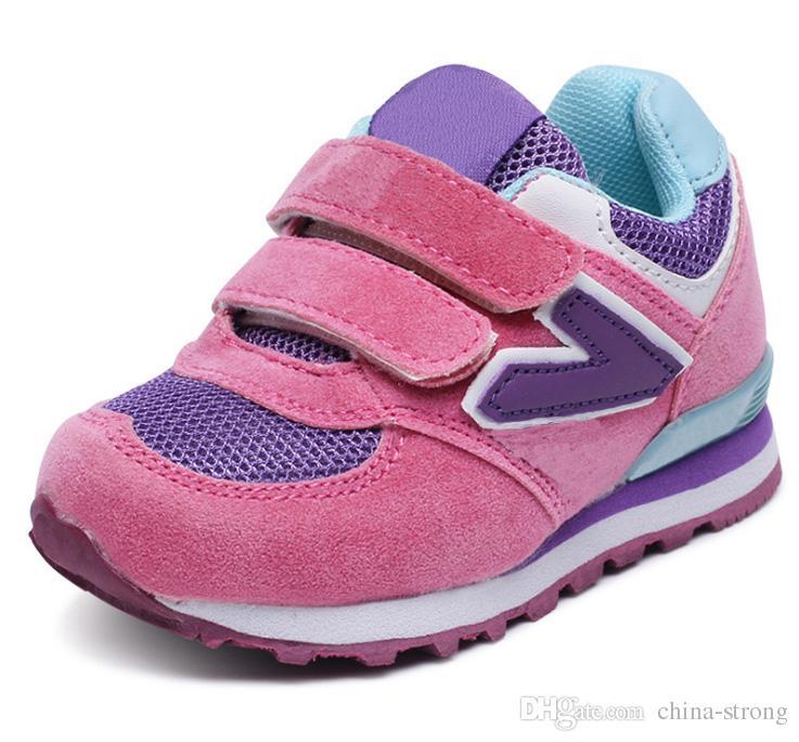 be0beb5628ee2 Compre Venta Caliente 2019 Zapatos Para Niños N Carta Resbalón Casual  Zapatillas De Cuero Transpirables Zapatos Para Niños Zapato Infantil Niño  Niña ...