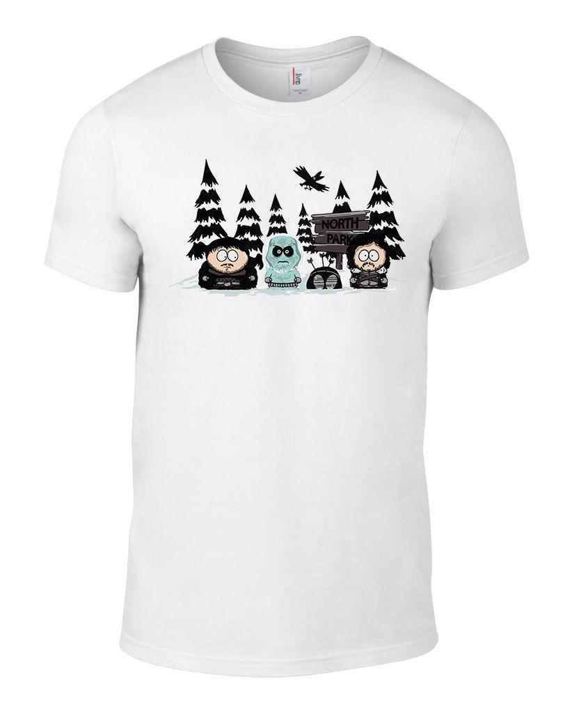 Compre Blanco Northpark Camiseta South Park Juego De Tronos Secreto De  Navidad De Santa Parodia Divertido Divertido Envío Gratis Unisex Camiseta  Casual A ... 2918748616250