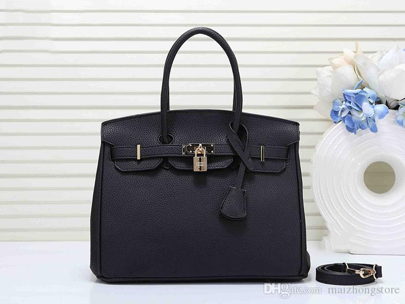 designer luxury handbag purse litchi pattern women designer bags Hams purse bag fashion totes 30cm H women bag