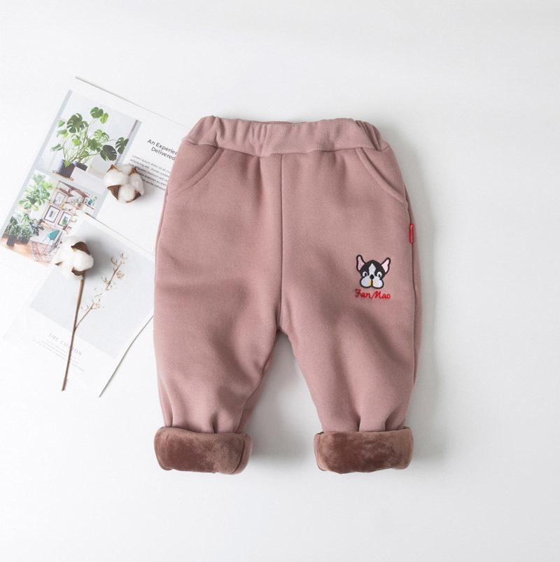 9a876ce94 Good Quality Boys Girls Pants Cartoon Baby Full Length Warm Pants ...