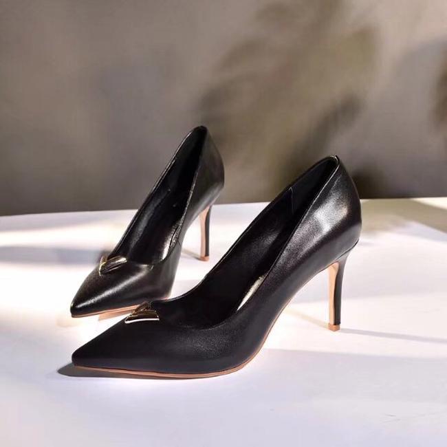 Sneaker Echtes Heels Kate Kleid Größe Leder High 8cm Mode 41 Stile Schuhe Toe 35 So Point Pumps hrQsoCBtdx