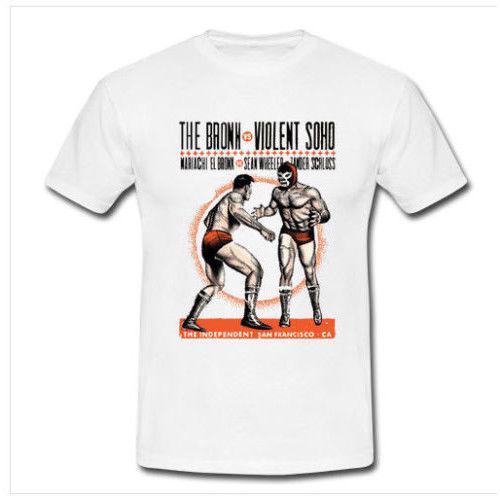 044afe2c3 The Bronx Vx Violent Soho Band Ma Tshirt White Tee Cotton New Men'S T Shirt  Custom Printed Tops Hipster T Shirts 2018 New Tee Print Cool Shirts Formal  ...