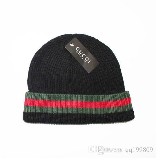 2018 Mens Designer Hats Bonnet Winter Beanie Knitted Wool Hat Plus Velvet  Cap Skullies Thicker Mask Fringe Beanies 21751 Beanie Hats For Women  Beanies For ... 3ab0309dbe7