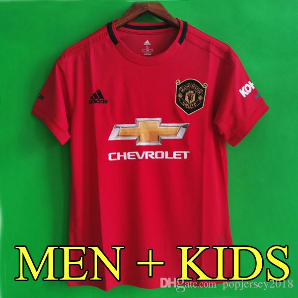 c32861271 2019 Thailand POGBA LINGARD 18 19 20 Manchester Soccer United Jerseys Utd  2019 2020 RASHFORD Football Kit MARTIAL Jersey Shirt Men And Kids Sets From  ...