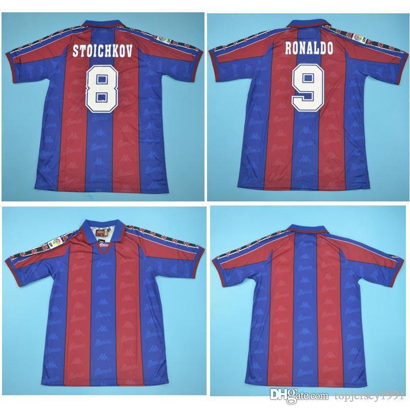 buy online 487fd 00638 Thai 96 97 Ronaldo Retro soccer jerseys Home football shirt 1996 1997  Ronaldo jersey Classic maillot de foot