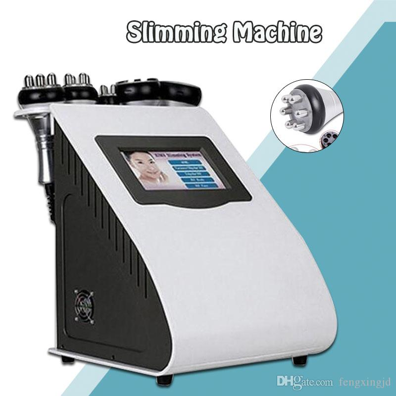 2019 Hot Product 5 in 1 Vacuum Laser Radio Frequency RF 40K Cavi Lipo Slimming Ultrasonic Liposuction Cavitation Machine For Spa