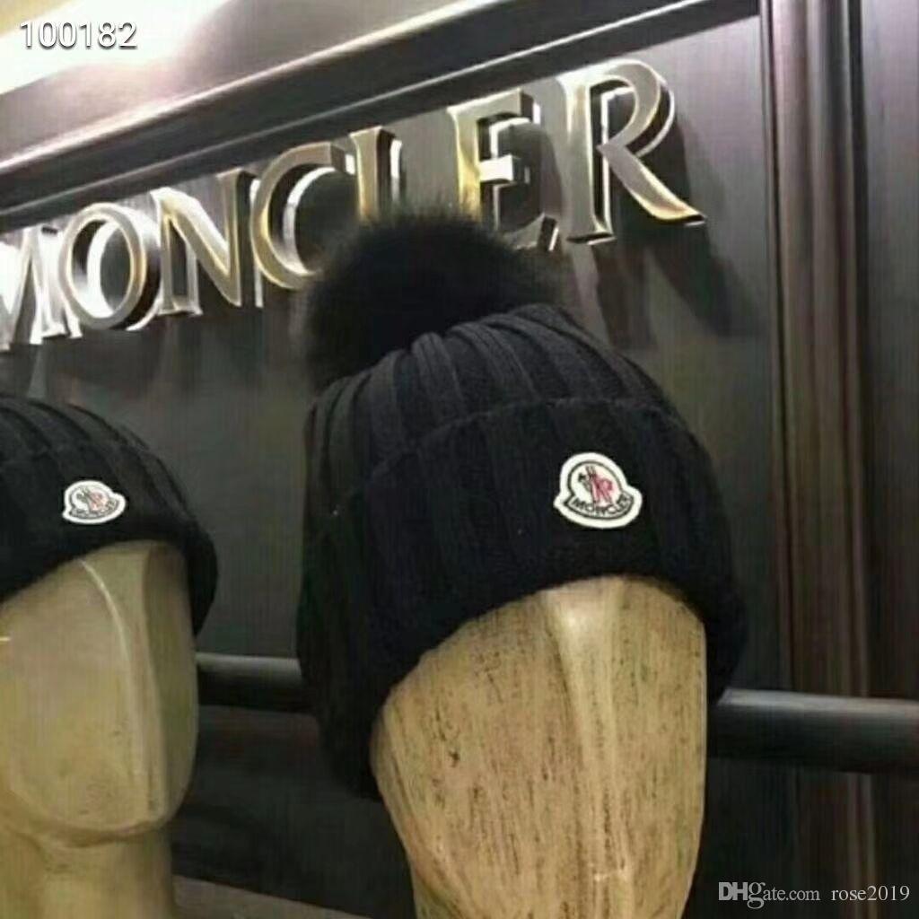 851c93b6404 Hot Fashion New CANADA Mens Designer Hats Bonnet Winter Beanie ...