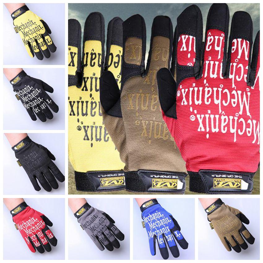 7 Colors Cycling Gloves Outdoor Protect MTB Bike Glove Breathable Full  Finger Gloves Party Favor 2pcs/pair CCA10815 100pairs