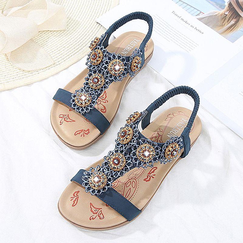 5899739e4a2127 Women Sandals Summer Women Shoes 2019 Fashion Flip Flops Flat ...