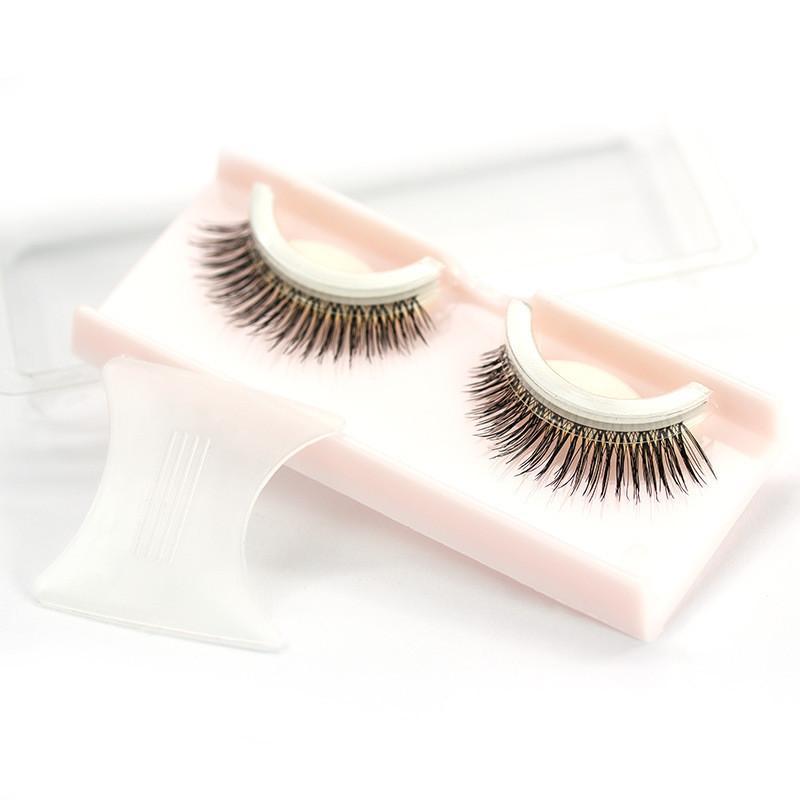 c08f9214f1f 3D Reusable No Glue False Eyelashes Self Adhesive Makeup Fake Lashes  Extension Best Eyelash Glue Eye Lash Extensions From Yangti, $39.31|  DHgate.Com