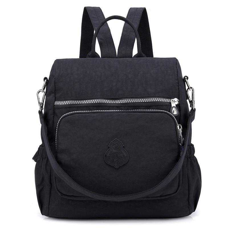 85076c0574 Preppy Style Women Backpack Waterproof Nylon School Bag Lady Women S  Rucksack Female Casual Travel Shoulder Bag Mochila Feminina Hydration Backpack  Womens ...