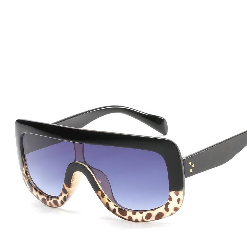 555cc4588e1 2019 Men Women Popular Sunglasses Good Quality Leopard Goggles Eyewear UV  Protection Fashion Brand Glasses Big Frame Hipster Sunglasses Oversized  Sunglasses ...