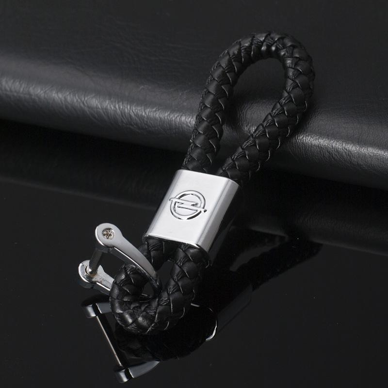 2 Pieces 3D Metal Car Logo Keychain Keyring Key Chain Auto Key Ring Holder  For Opel Lexus Jeep Audi GMC BMW Keyfob Car Styling Accessories