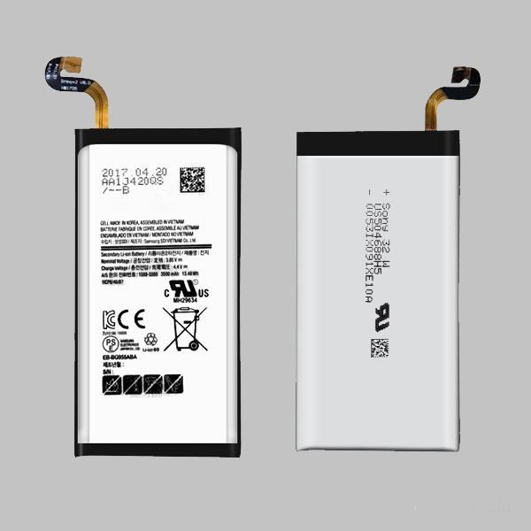 For samsung Battery s3 s4 s5 s6 s3 mini s4 mini note2 note3 note4 battery 100pcs/lot high quality HOTFor Samsung galaxy S8 Edge Battery EB-B