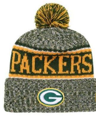 fde37ea5 best price green bay packers sideline knit hat cdbb9 9f33e