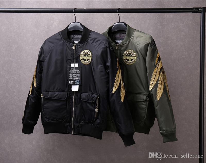 High Quality Fashion Boy London Jacket Designer Brand Embroidery