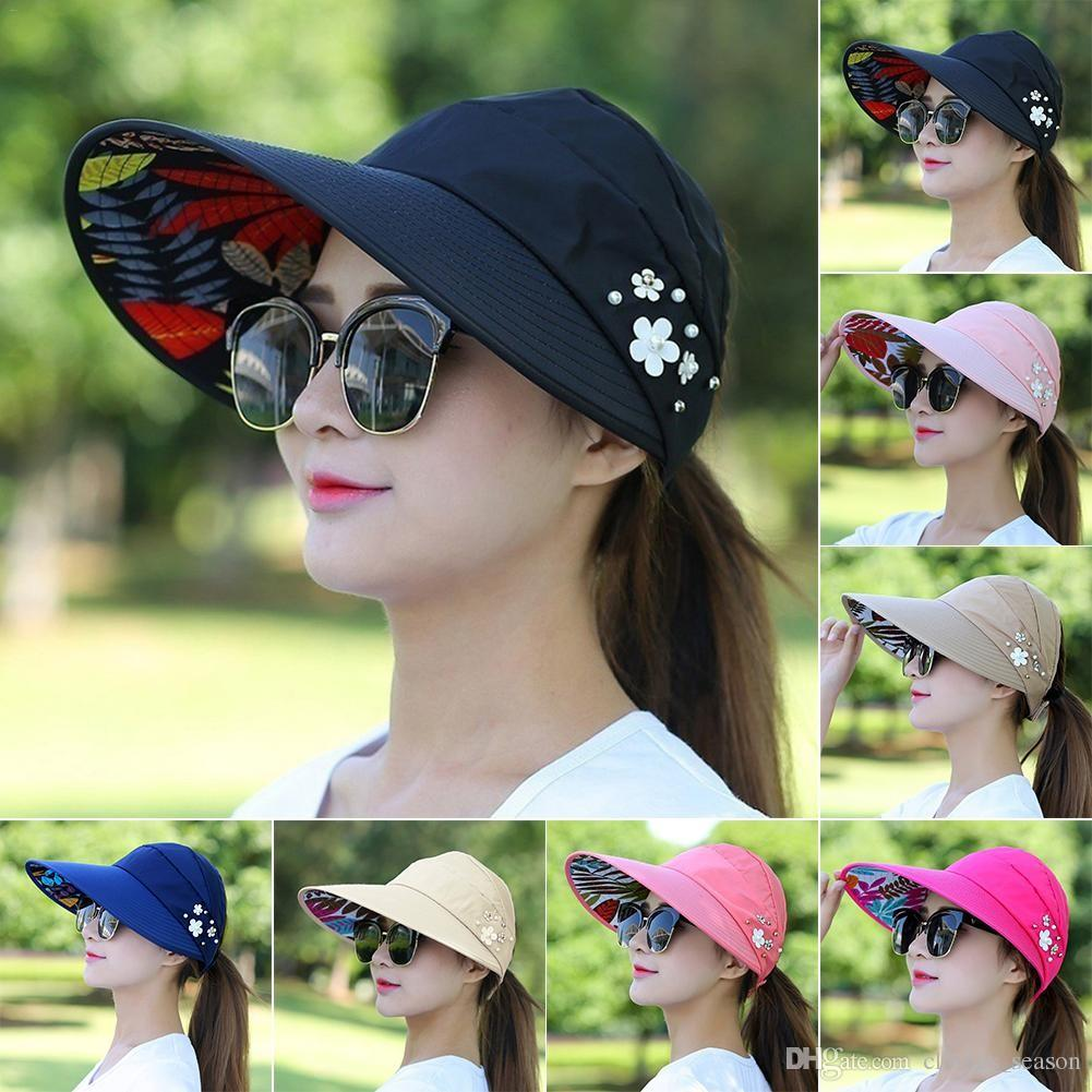 1d159b162a18f 2019 Men Women Sport Running Caps Adjustable Outdoor Visor Cap Summer Sun  Hat Breathable Mesh Hat Baseball Mesh Caps From Clothes season