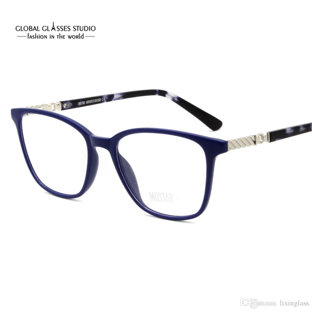 bf1fad62db 2019 New Women Casual Eyewear Frames Non Prescription Clear Lenses  Eyeglasses MSG7108 From Lixinglass