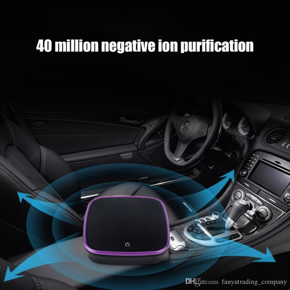 6aa3c0e3a 2019 Car Air Purifier With Filter Freshener Cleaner Negative Ionizer USB  Formaldehyde Bacteria Odor Purifying Device Auto Goods From  Fanyutrading company