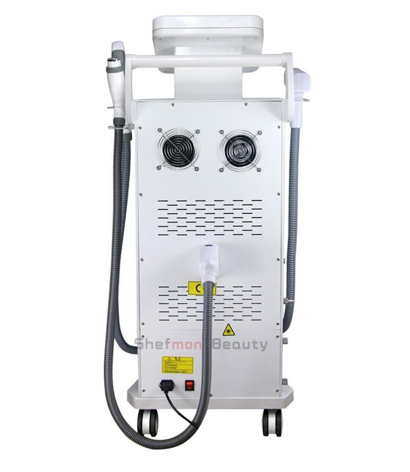 OPT SHR IPL + ND Yag Laser Machine Hair Removal Tattoo Removal RF E-light Skin Rejuventaion Skin Care Beauty Equipment