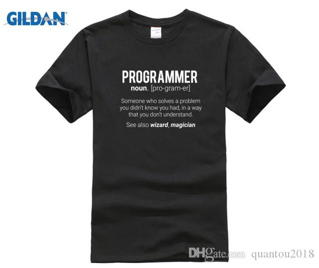 1104399c Computer Programmer SHIRT Funny Programmer Meaning Design Programmer Noun  Defintion T Shirt T Shirts Online Shopping Buy T Shirts From Quantou2018,  ...