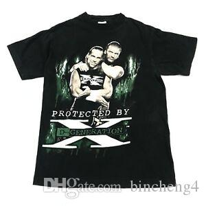 Vintage Shawn Michaels & D-Generation X T Shirt WWF Funny Triple H Adult Small WCW