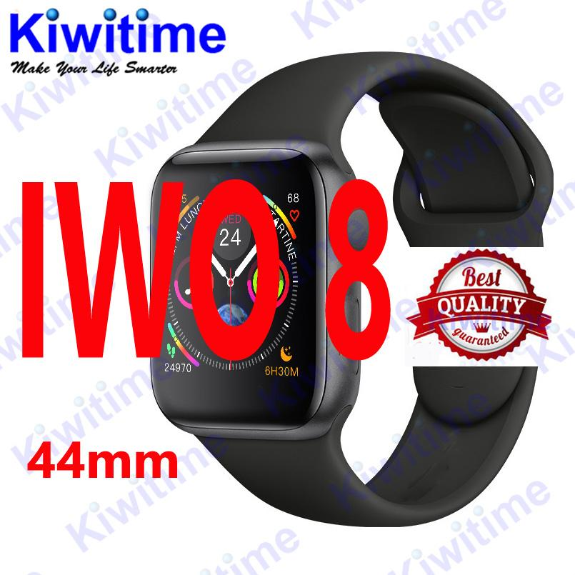 Bluetooth smart watch IWO 8 1:1 smartwatch 44mm Case for Apple iOS Android Heart Rate ECG Pedometer IWO 6 Upgrade