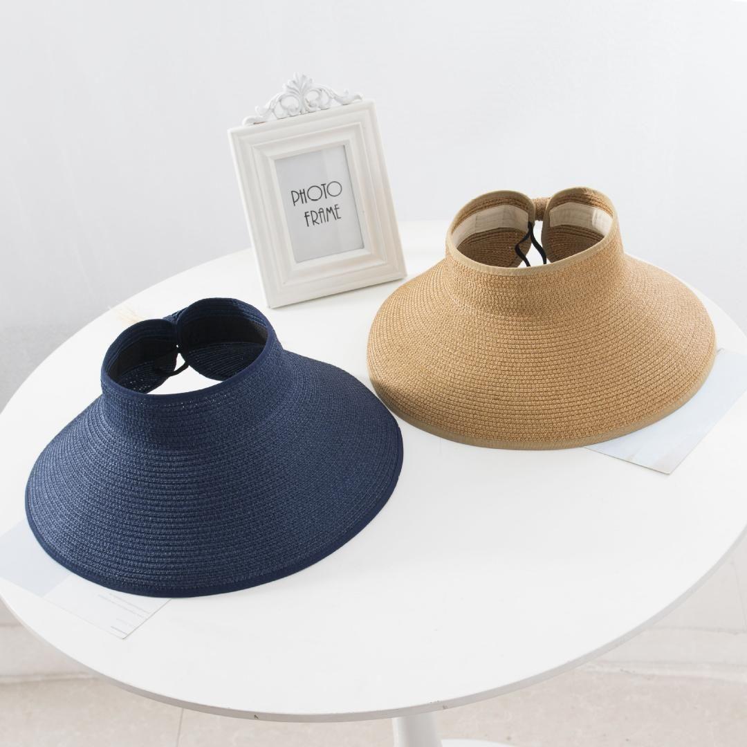 723fbec2 Summer Visors Hat Foldable Sun Hatfor Women Straw Hat Ladies Wide Large  Brim Beach Hats Femme Chapeau Sun Hats Sun Hat From Herberta, $38.07|  DHgate.Com