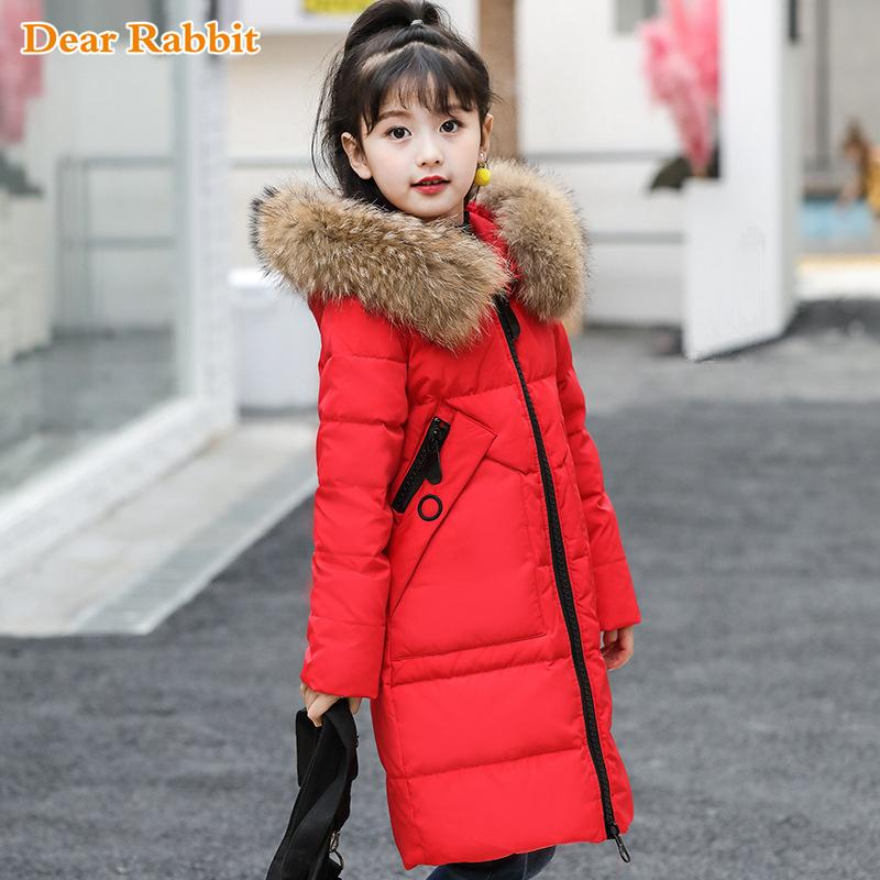 df4de3cf150e 30 Degrees Girls Clothing Warm Down Jacket for Girl Clothes 2018 ...