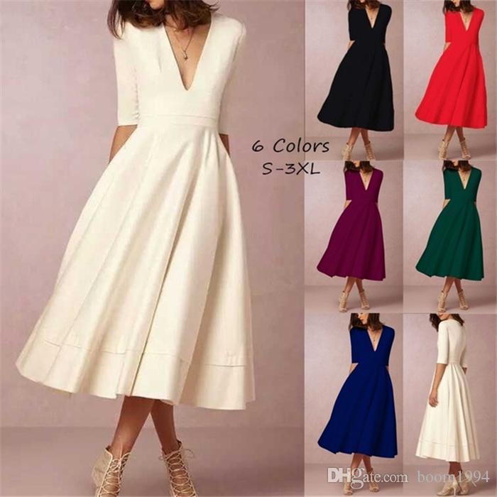 Vintage Colors Dresses