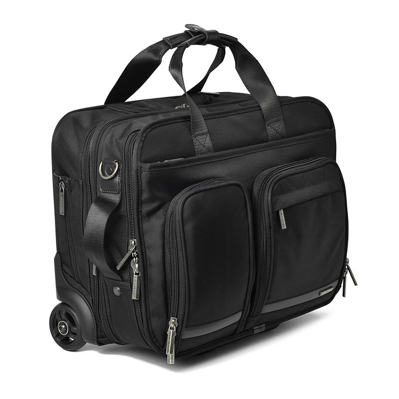 CARRYLOVE 16 Inch Business Trip Rolling Luggage Multifunction ... de69dcf483c0a