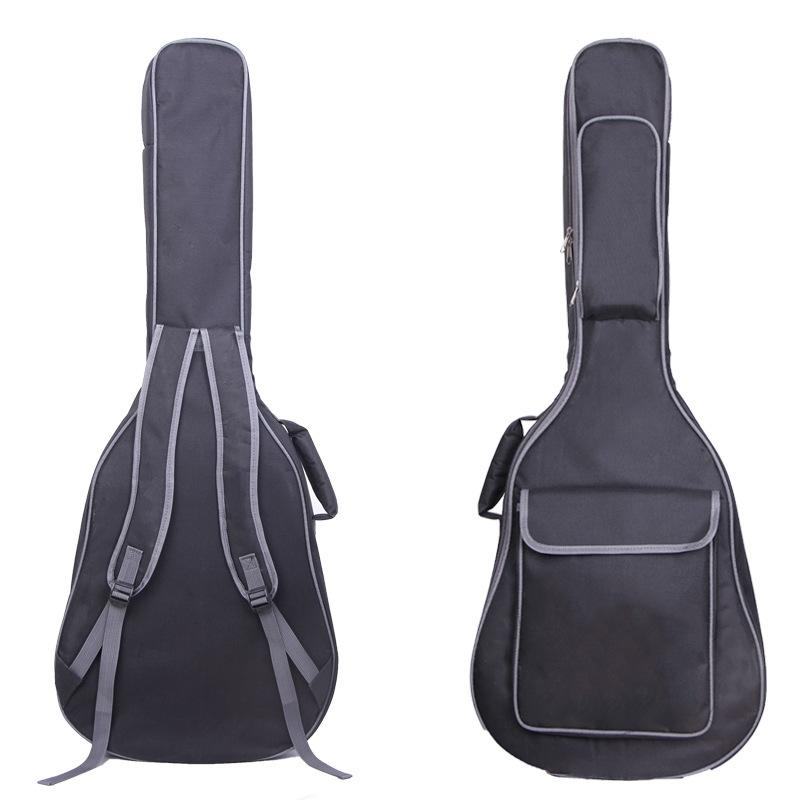 cd6f214ed57 2019 38/39/40/41 Inch Guitar Bag Carry Case Waterproof Backpack Oxford  Acoustic Folk Guitar Gig Bag Cover With Double Shoulder Straps From  Beasy111, ...